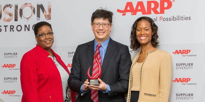 AARP RECOGNIZES AQUENT FOR SUPPLIER DIVERSITY