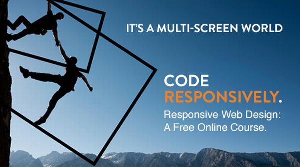 Enrollment Now Open for Our Responsive Web Design Course