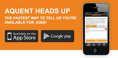 Aquent Heads Up App Launches For Talent Updates On The Go image