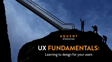 Creative Staffing - UX Fundamentals: A New Course from Aquent Gymnasium image