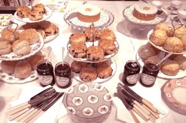 Creative Staffing - Let us treat you to a traditional cream tea image