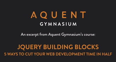 jQuery: Free Online Course Coming Soon! image