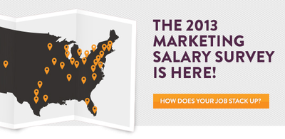 2013 Aquent | AMA Marketing Salary Survey Reveals Some Surprises image
