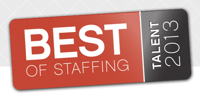 We Made the 2013 Best of Staffing™ Talent List! image